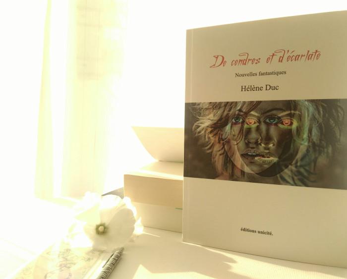 de cendres et d'écarlate photo du blog emma's books